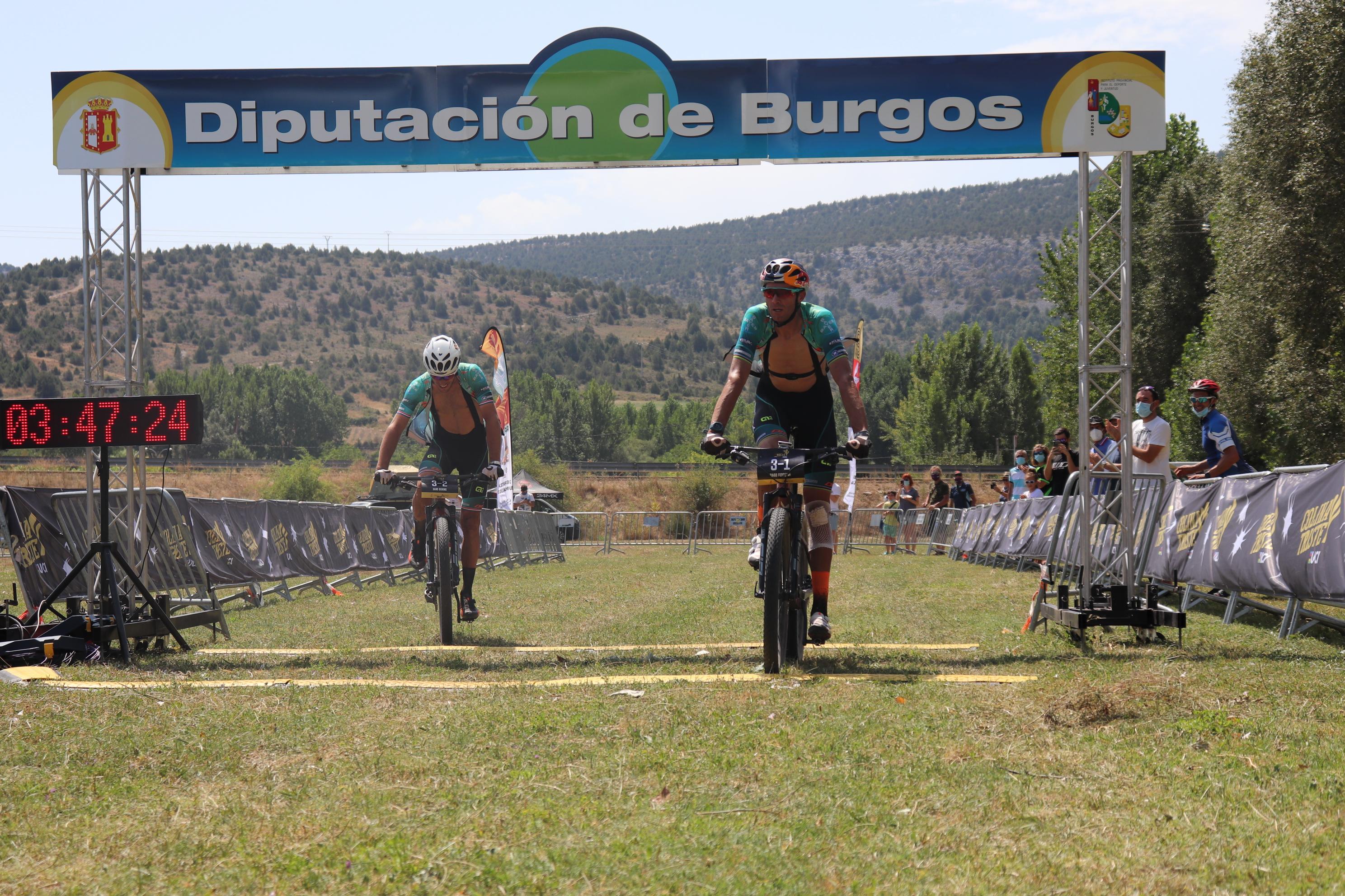 Tiago Ferreira y Hans Becking ganan la etapa más larga de la historia de Colina Triste y se enfundan el maillot de líder