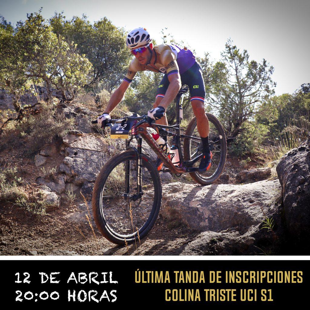 El 12 de abril apertura del último tramo de inscripciones para Colina Triste UCI S1