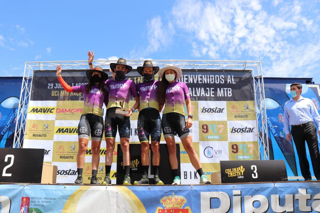 Hans Becking y José Dias, en categoría masculina y Silvia Roura y Naima Madlen en femenina, ganan la general de Colina Triste UCI S1